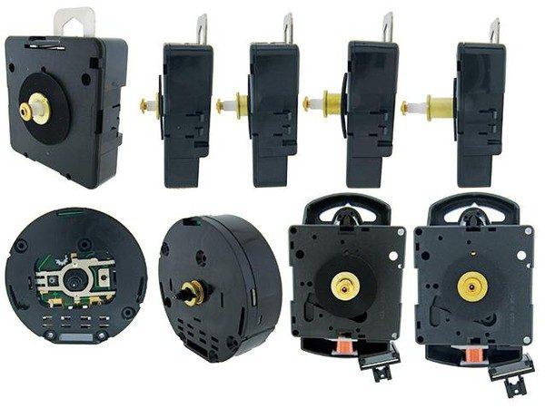 Our Full Range of Quartz Clock Replacement Movements