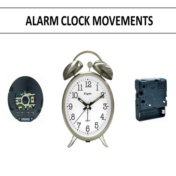 Alarm Clock Replacement Movements
