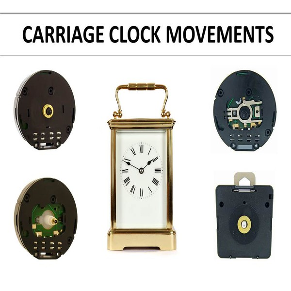 Carriage Clock Replacement Movements