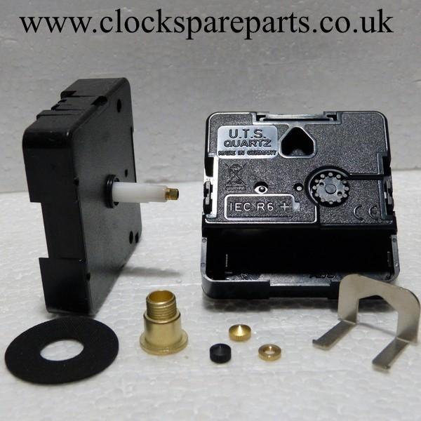 20mm shaft Quartz UTS German euroshaft clock movements