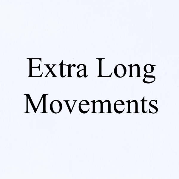 5x,10x or 20x Extra Long Shaft Movements & Hands