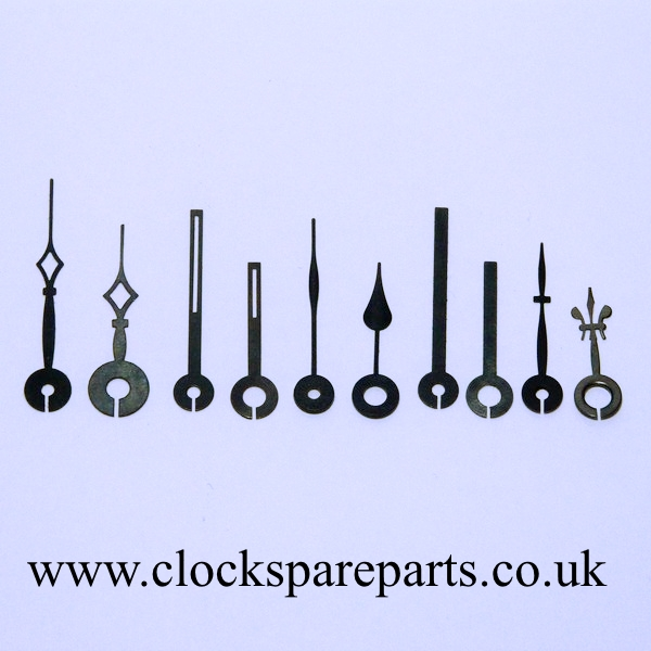 Microshaft carriage clock hands (Hr pipe 3.5mm/Min pipe2.0mm)