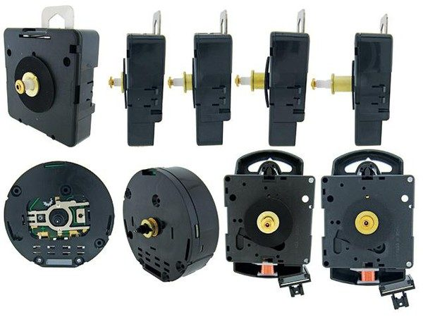 Our Full Range of Quartz Clock Replacement Movements