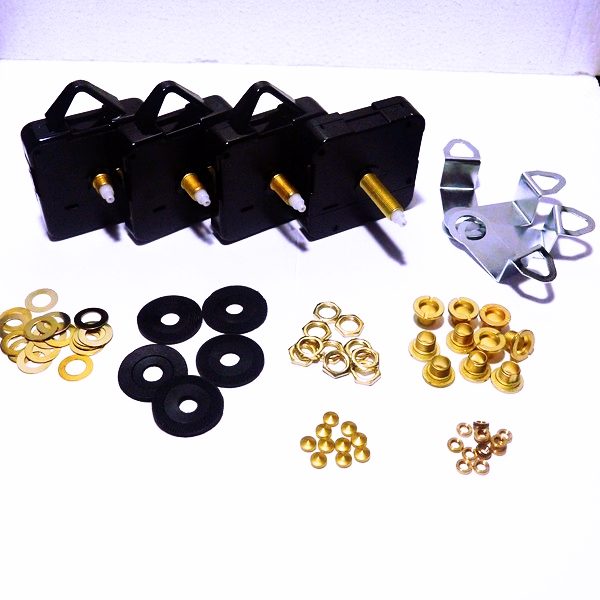 Quartz Clock Movement & Hand Kit Bulk Buys, Accessories & Fittings